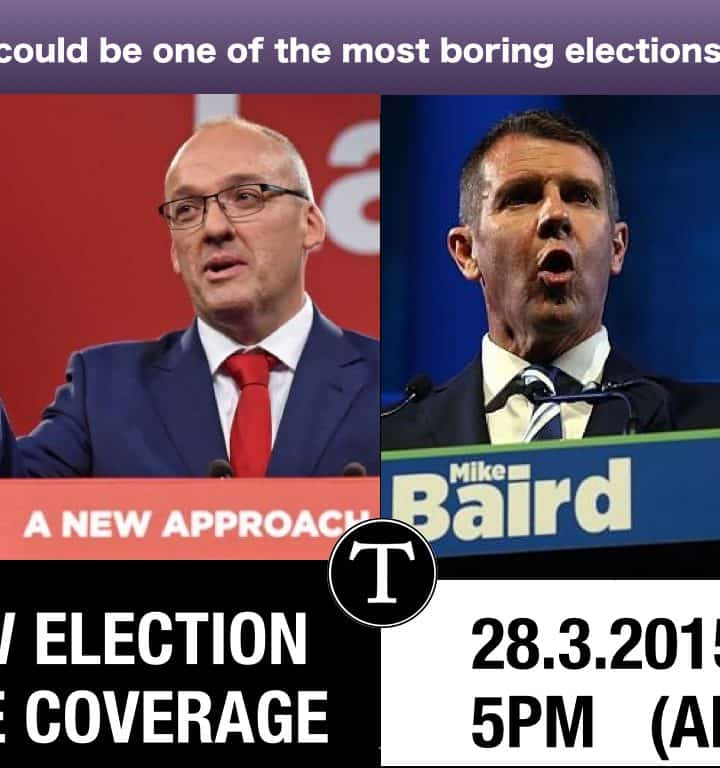 The Typewriter News Site: NSW Election 2015 Live Blog